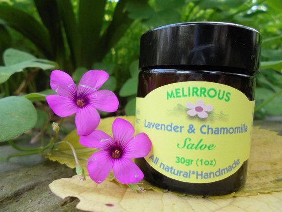 Lavender & Chamomilla  healing salve. All natural by MelirrousBees