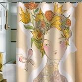 Found it at Wayfair - Cori Dantini Beauty On The Inside Shower Curtain ***cg