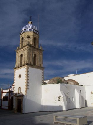 Rota, the minaret tower of La Merced, al-Andalus, Spain, Andalucia, Cadiz.