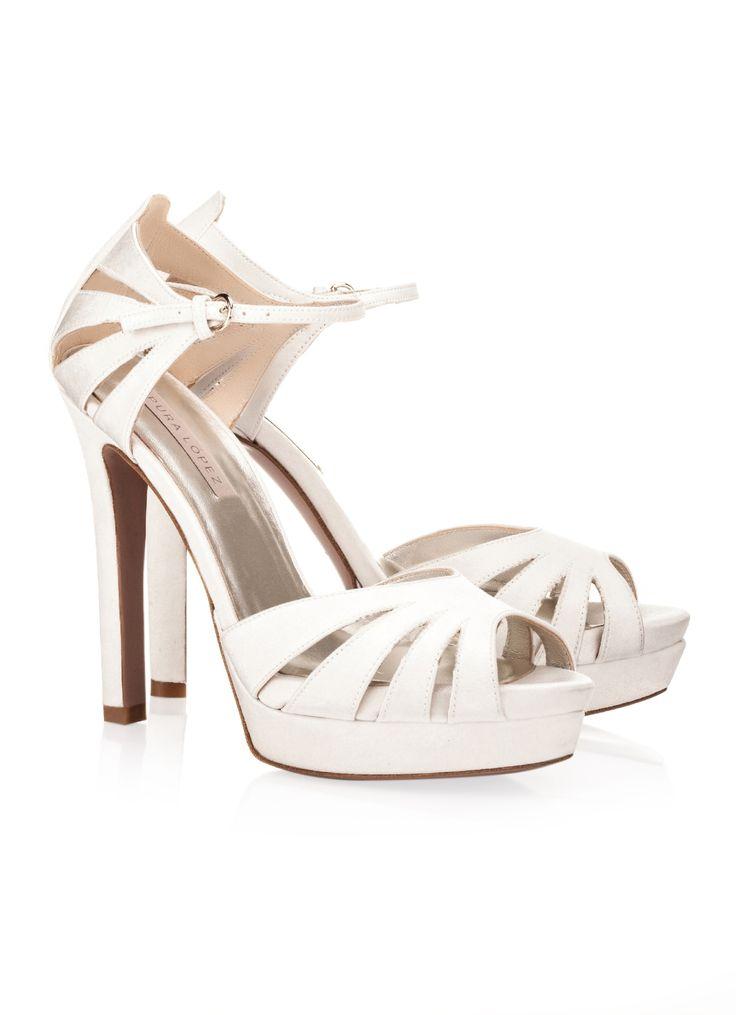 faren sandalias novia verano 2015 - Zapatos novia - Pura Lopez