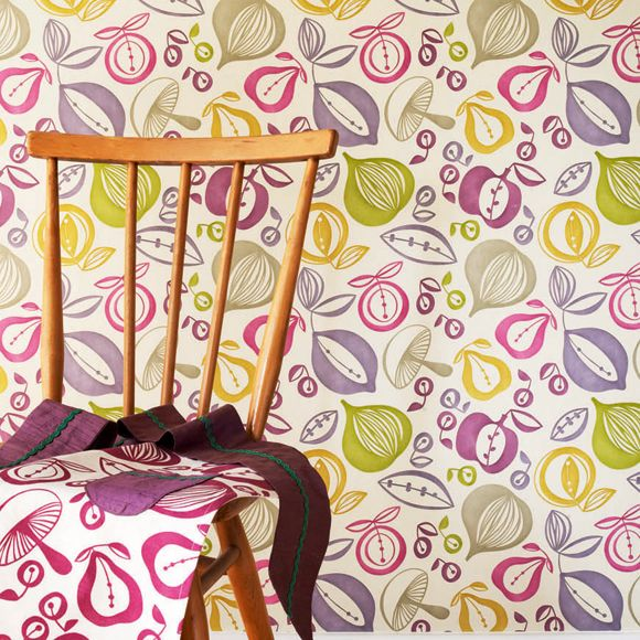 124 mejores im genes sobre hogar en pinterest tela - Papeles pintados sanderson ...