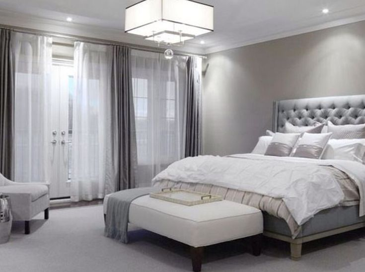Light Grey Bedroom Clic Decorwhite