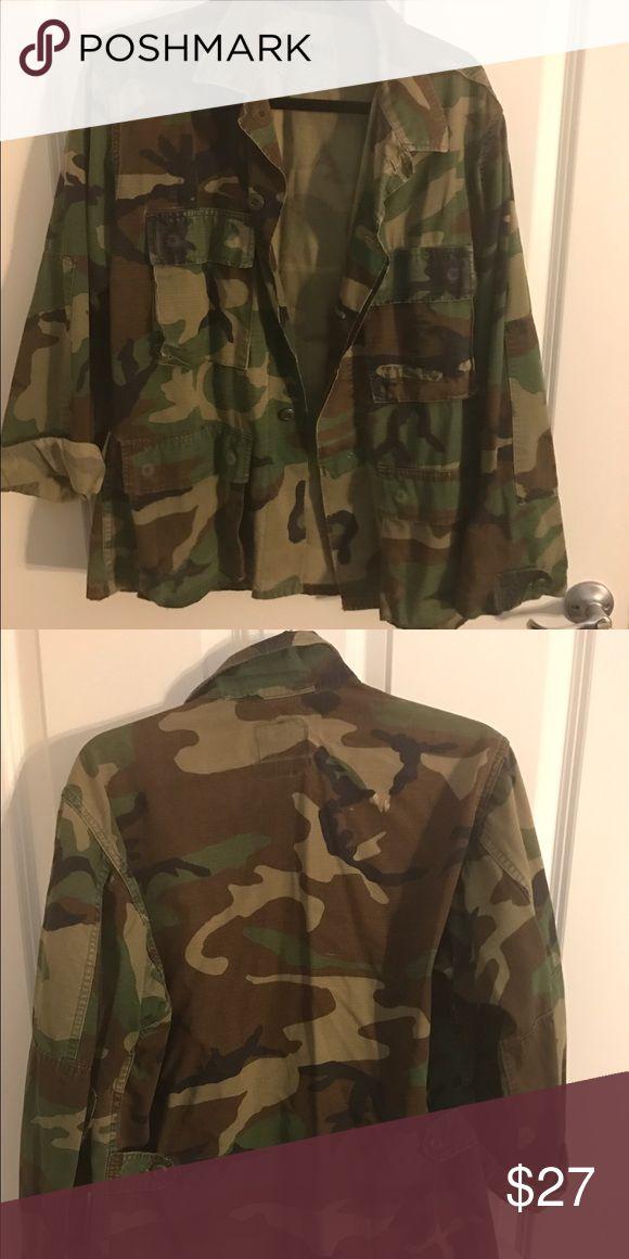 Army surplus jacket Redesigned army surplus jacket Jackets & Coats