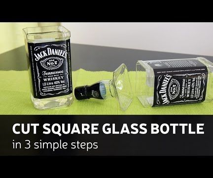 This time I show you how to cut square ( or any other) glass bottle in 3 simple steps.How I made it - you can check by looking DIY video or you can follow up instructions bellow. For this build you will need: Materials:Glass bottlesHot and cold waterSand paper 80 and 280 gritTools:Glass cutterKettleGlows