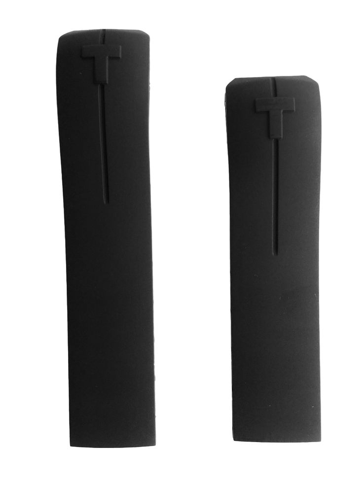 Authentic Tissot T-Touch II Expert Black Rubber Band Strap for Back Case T013420A or T047420A. Authentic Tissot Strap.