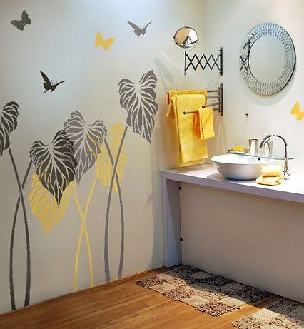 Try Wall Stencils Instead Of Expensive Wallpaper! Cutting Edge Stencils  Offers The Best Stencils For DIY Decor   Stencils Expertly Designed