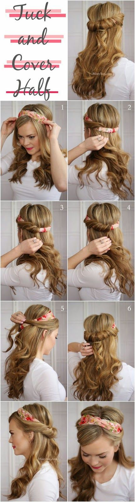 26 Lazy Girl Hairstyling Hacks spring and summer hairstyle ideas Latest Women Fashion