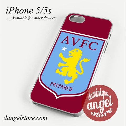 aston villa logo Phone case for iPhone 4/4s/5/5c/5s/6/6s/6 plus