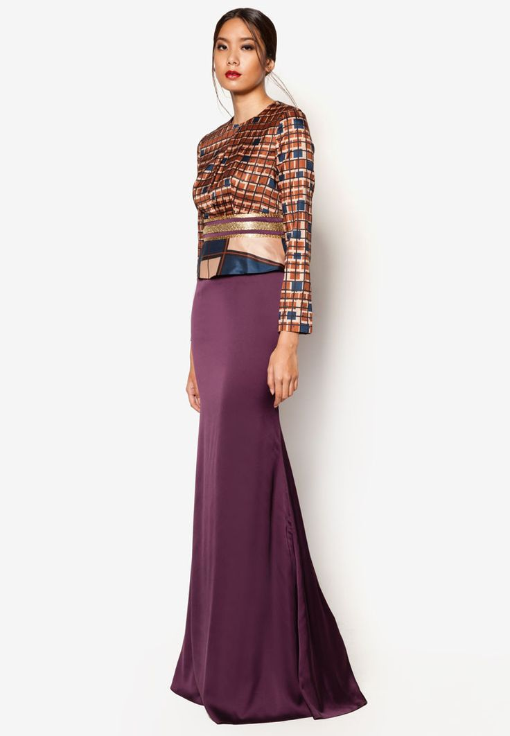 Jovian Mandagie for Zalora ArtDeco Amelie Dress | ZALORA 2015