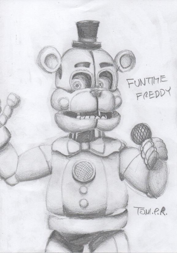 Fun freddy drawing Funtime Freddy