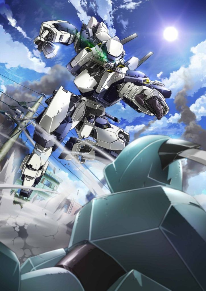 full metal panic invisible victory second key visual mecha