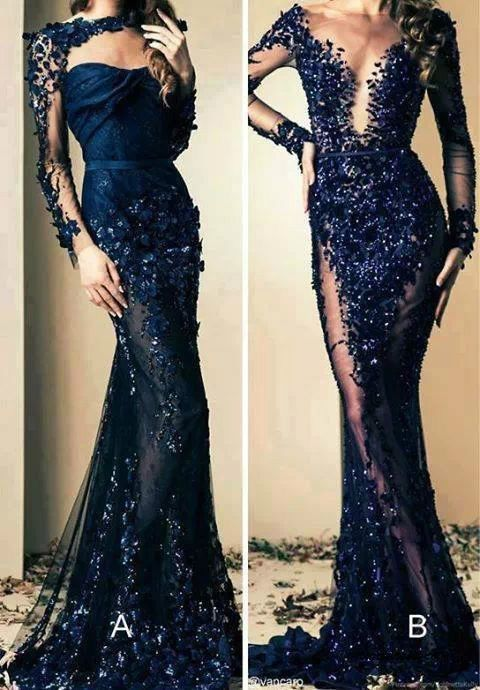 Famous designer evening dresses