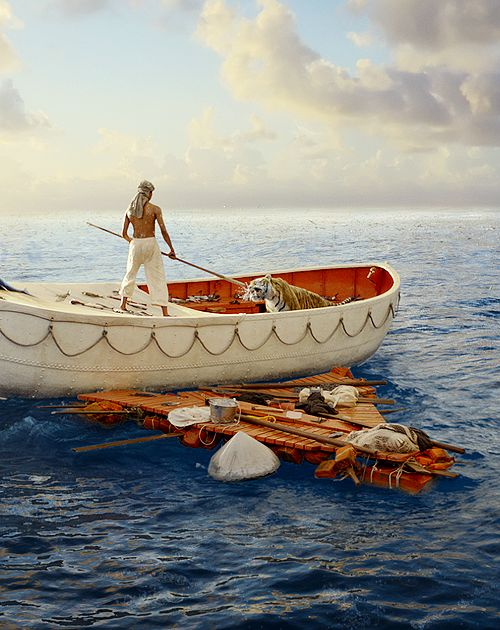 Life of Pi-Epic  After a shipwreck, Pi takes an unexpected creature. His tale describes his spiritual journey and his struggle to keep his faith in God.