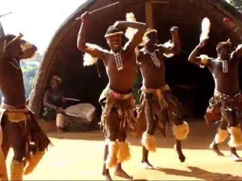 Zulu dance - YouTube