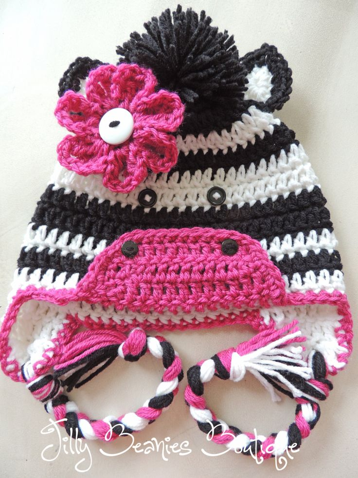 Free Zebra Print Hat Crochet Pattern : 1000+ images about Crochet Children, USD on Pinterest Kids ...