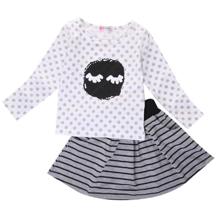 Girl Moon Clothing Set