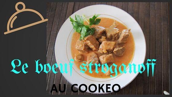 bœuf stroganoff au cookeo