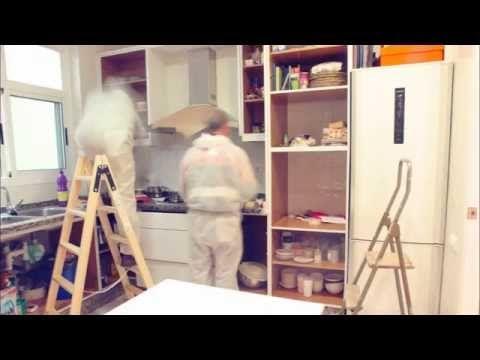11 best ideas a la tiza images on pinterest chalk paint - Pintar sobre azulejos cocina ...