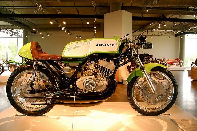 Yvon DuHamel's 1972 Kawasaki H1 RA