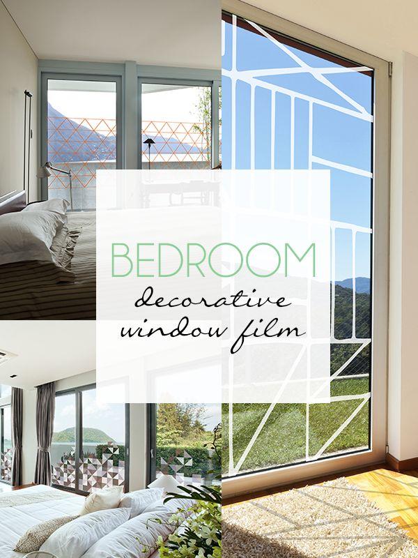 Bedroom Decorative Window Film
