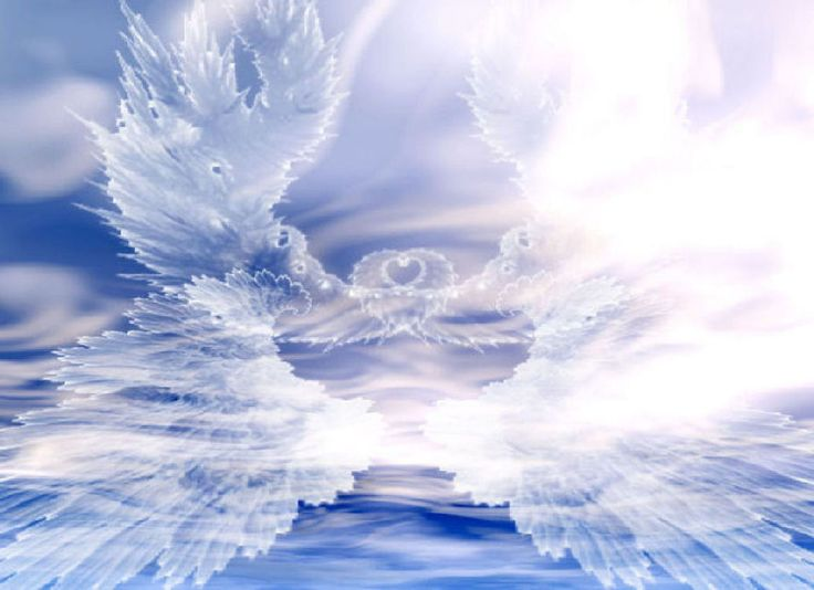angelic image: Timeline Covers, Blue Pictures, Angel Wings, 6 Months, Archangel Michael, Glitter Graphics, Guardians Angel, Holy Spirit, Cloud