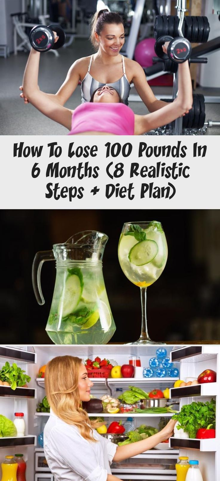 How to lose 100 pounds in 6 months 8 realistic steps