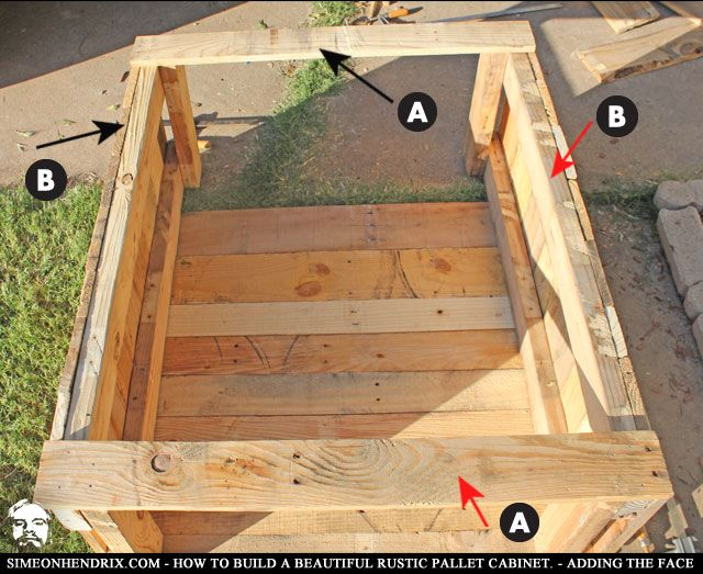how to build rustic kitchen cabinets how to build a beautiful rustic pallet cabinet 16830