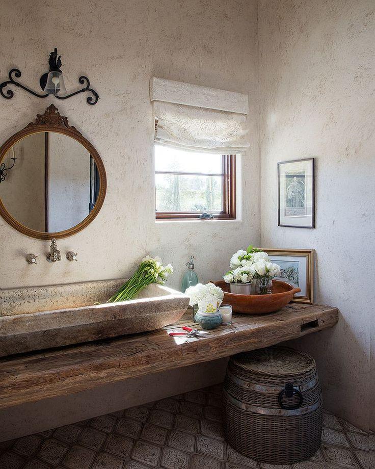 Hot Trends: Beste mediterrane Stil Pulver Zimmer mit modernen Obertönen