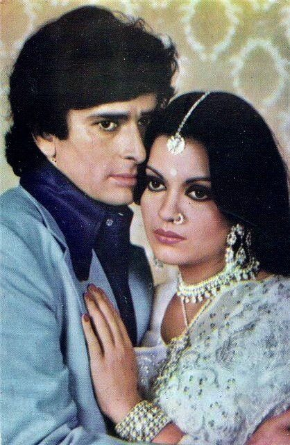 Zeenat Aman and Shashi Kapoor