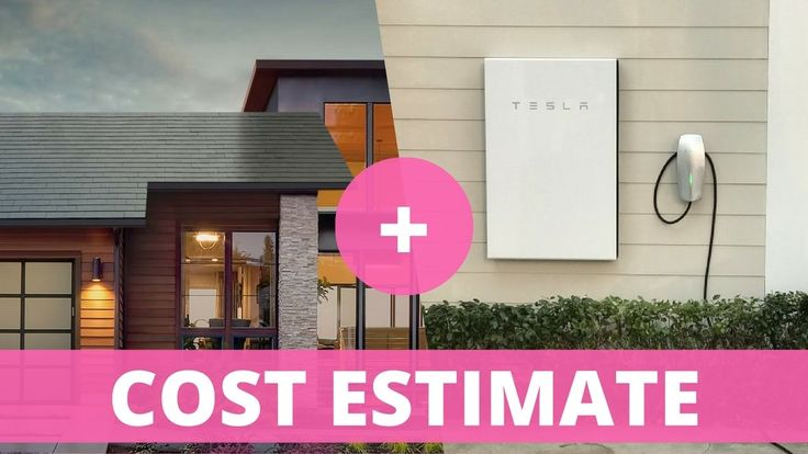 Tesla Solar Roof: Cost Estimate with Powerwall 2 and Electricity Costs I...