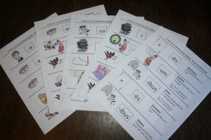 Latin Memory Work for Classical Conversations...stories to help you to remember which song to sing.....and when!