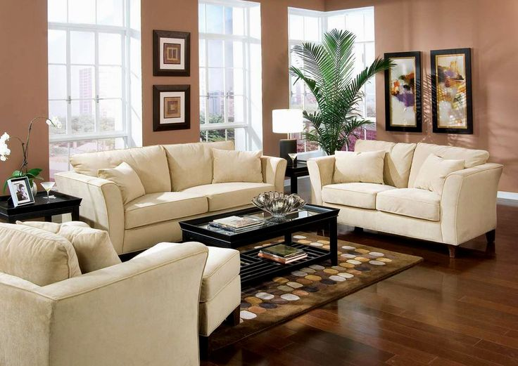 Better Home Living Room Decorating Ideas Sunroom With Likable Dark Salmon  Color Schemes Wall Paint And Fashionable Ivory Fabric Sleeper Sofa Using  Shelter .
