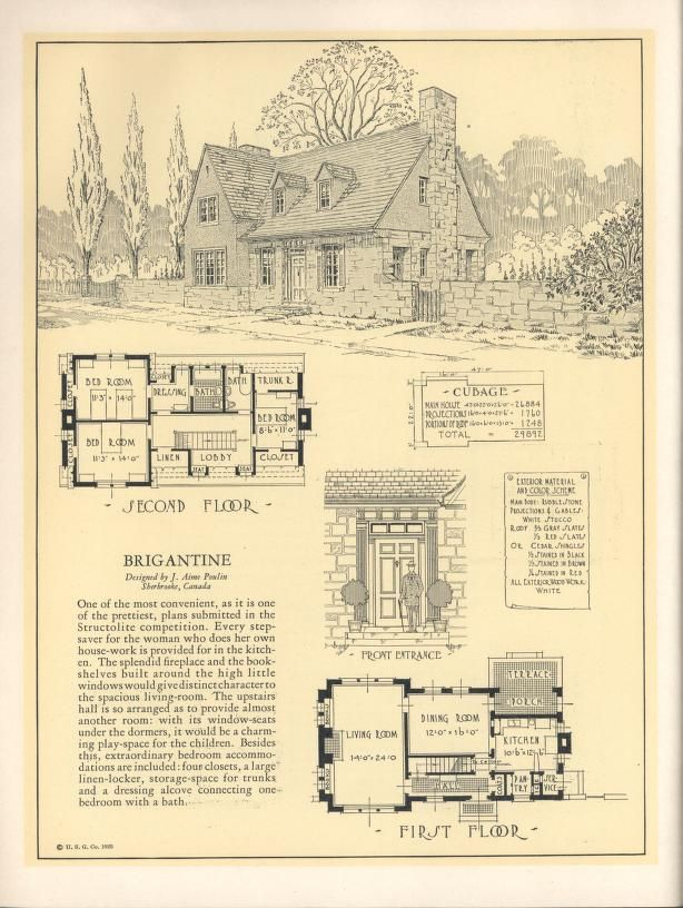 1000 images about house plans 1900 1930s on pinterest for Early 1900 house plans