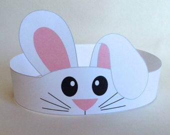 Mouse Paper Crown  Printable