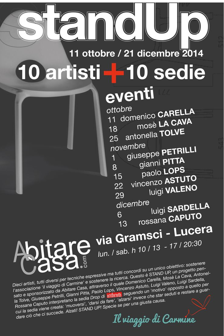 10 artists + 10 chairs