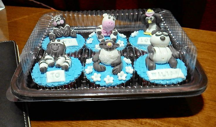 Kuih Maretha: Foto Animal Cupcakes untuk William
