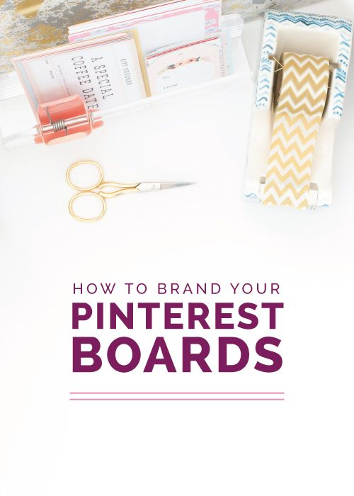 """After I shared last month's post on how to utilize Pinterest to grow your blog audience, I received several questions on how to organize boards and develop a consistent style within a Pinterest account""-says @laurenehooker Read the article on her blog."