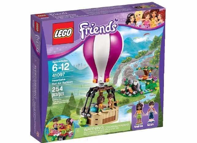 Lego Friends 41097, El Globo de Heartlake.  Contiene 254 piezas, incluye dos Minifiguras.