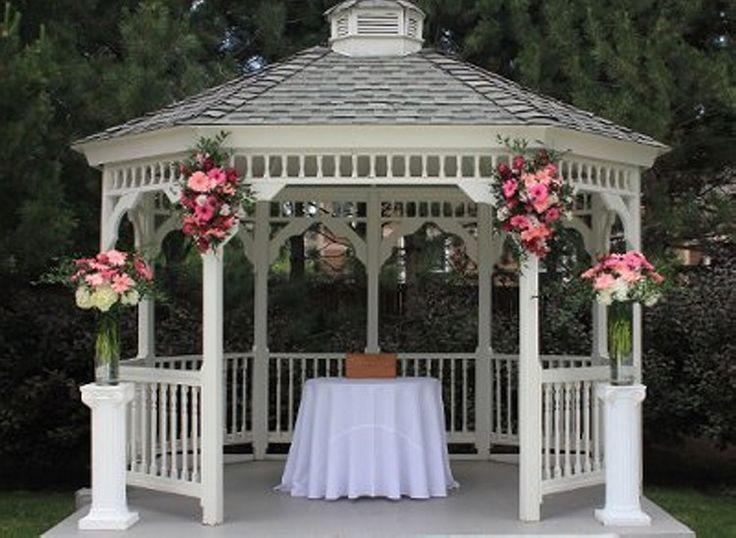 25 Ideas For An Outdoor Wedding: 25+ Best Ideas About Outdoor Wedding Gazebo On Pinterest