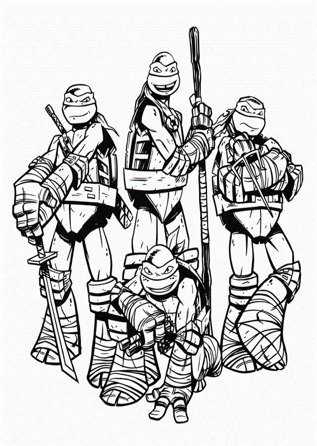 Pin De Nazariy Tymchyshyn En Tortugas Ninja Para Colorear Tortugas Ninjas Ninja Dibujo Ninja