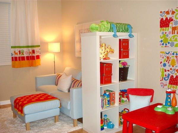 Interesting Playroom Office Ideas view in gallery orange red chairs enliven the home office 20 chalkboard paint ideas to transform the modern home Redesigning A Playroom For Three Boys