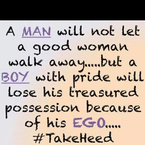let the man be in relationship