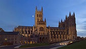 Washington National Cathedral-Majestic above the city