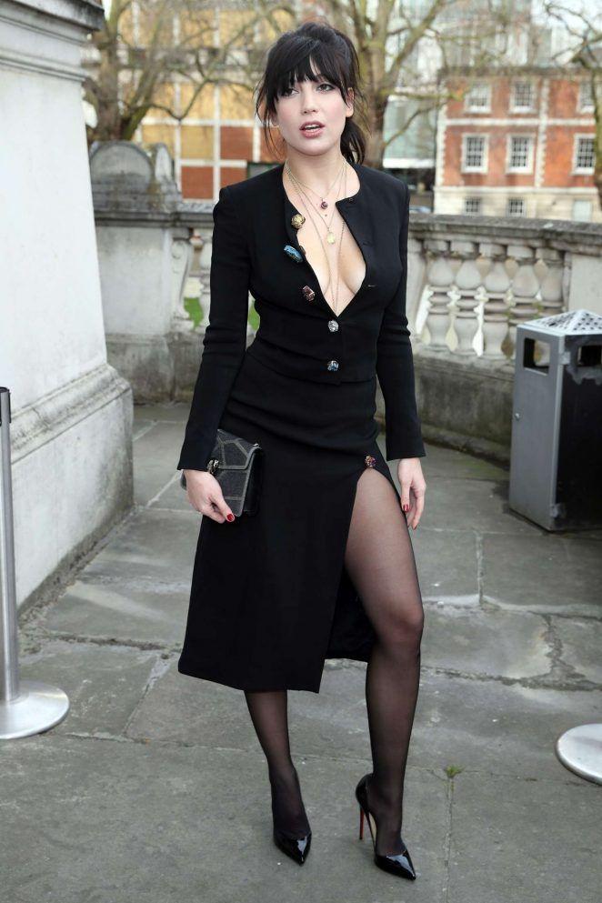 "dailyactress: ""Daisy Lowe – London Fashion Week 2017 in London """