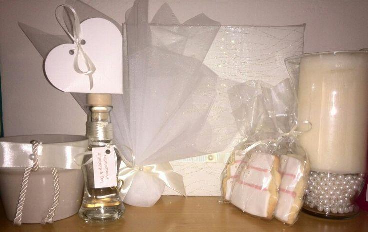 My light gold pearl wedding