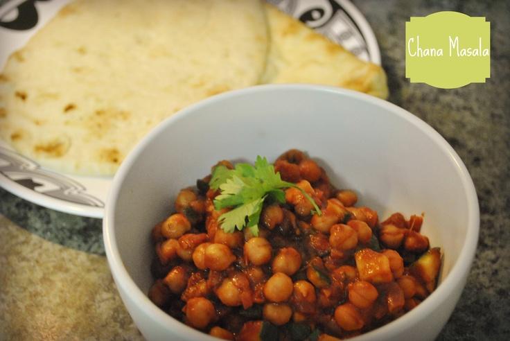 ChanaMasala, vegetarian Indian dish