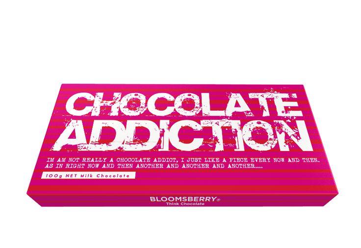 Bloomsberry Chocolate Addiction Milk Chocolate 100g