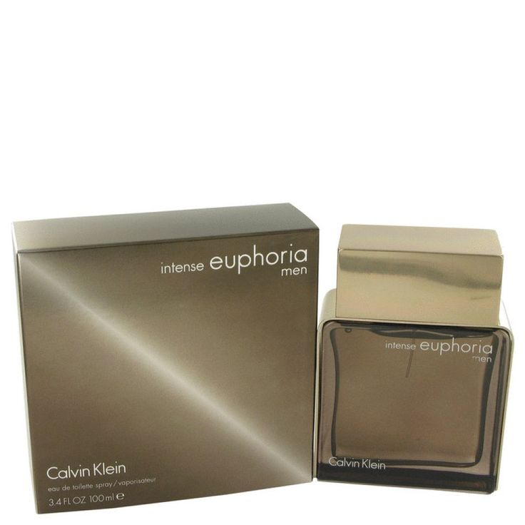 Euphoria Intense By Calvin Klein Eau De Toilette Spray 3.4 Oz