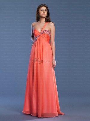 orange formal dress #orange #formal #dress #fashion