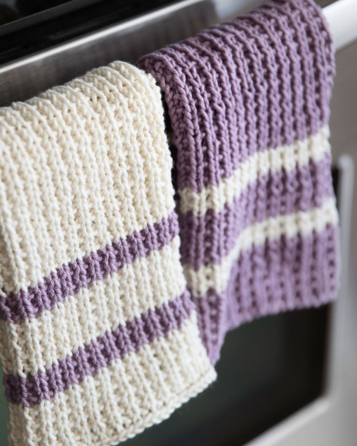 Knit Dishcloth Pattern - Leelee Knits